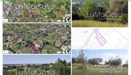 Rif. 099V - Terreno edificabile mq 3.970 Zona Sambuceto Via Di Nisio San Giovanni Teatino CH ABRUZZO